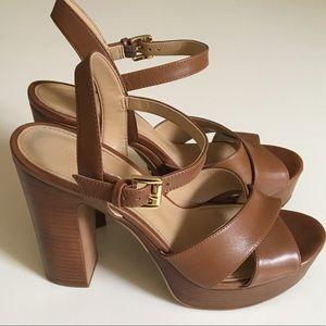 29362b7e70 Michael Kors Shoes - Michael Kors Sia Platform Heels